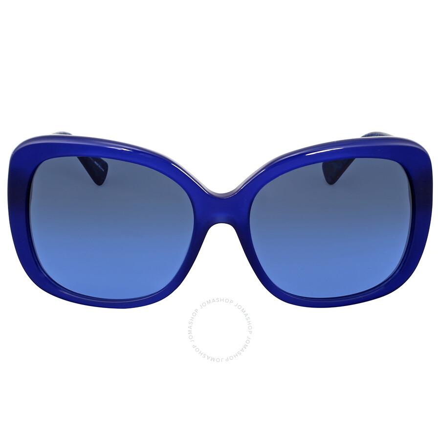 773238ee4e Coach Grey Blue Gradient Plastic Sunglasses Item No. HC8158-539717-58