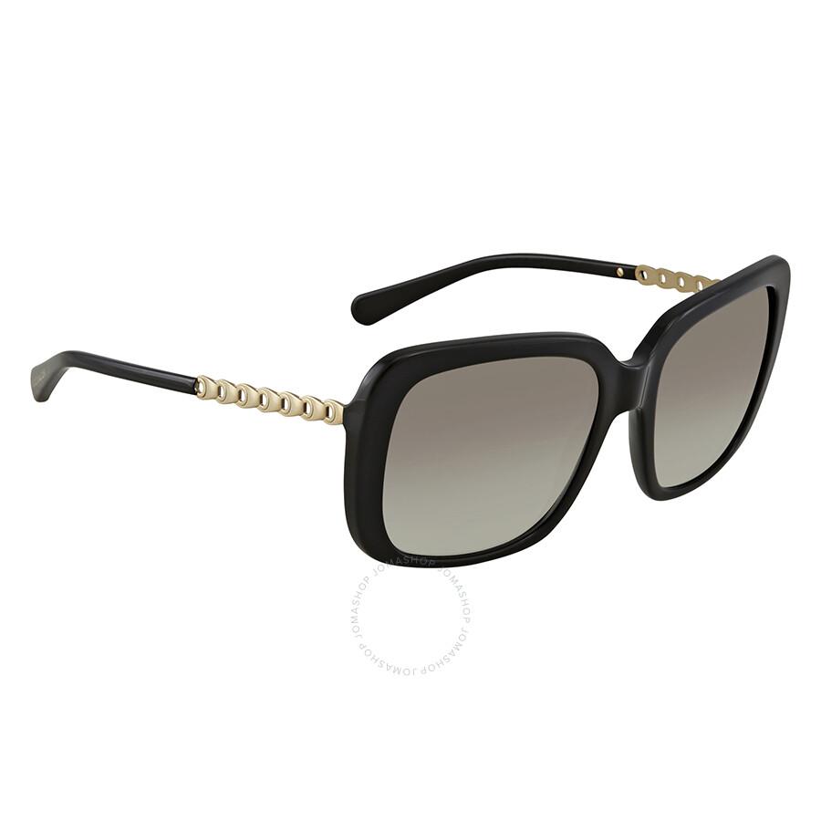 14c1665d3a Coach Grey Gradient Square Ladies Sunglasses HC8237 500211 57 ...