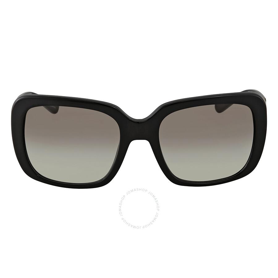902a5ff6c7d ... Coach Grey Gradient Square Ladies Sunglasses HC8237 500211 57 ...