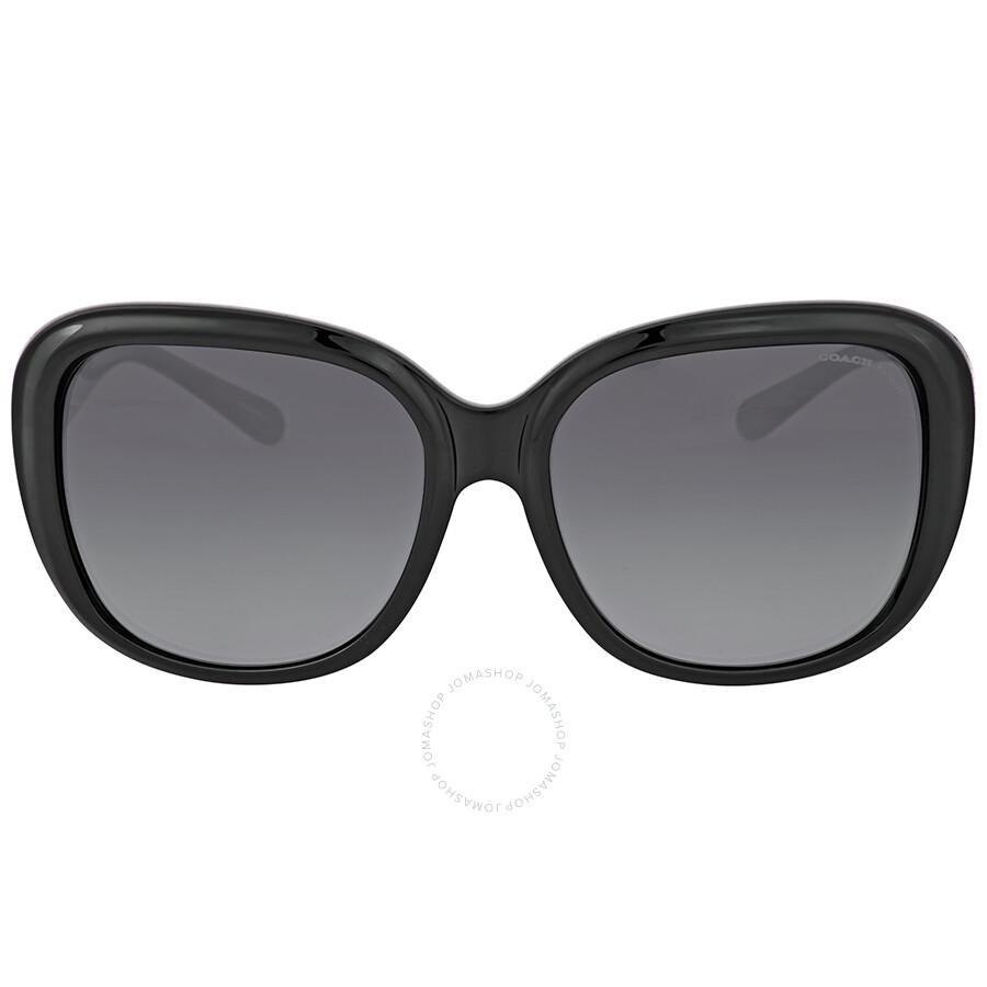 9098f164bd ... denmark coach grey gradient square plastic sunglasses 27dfb 9f7ff ...