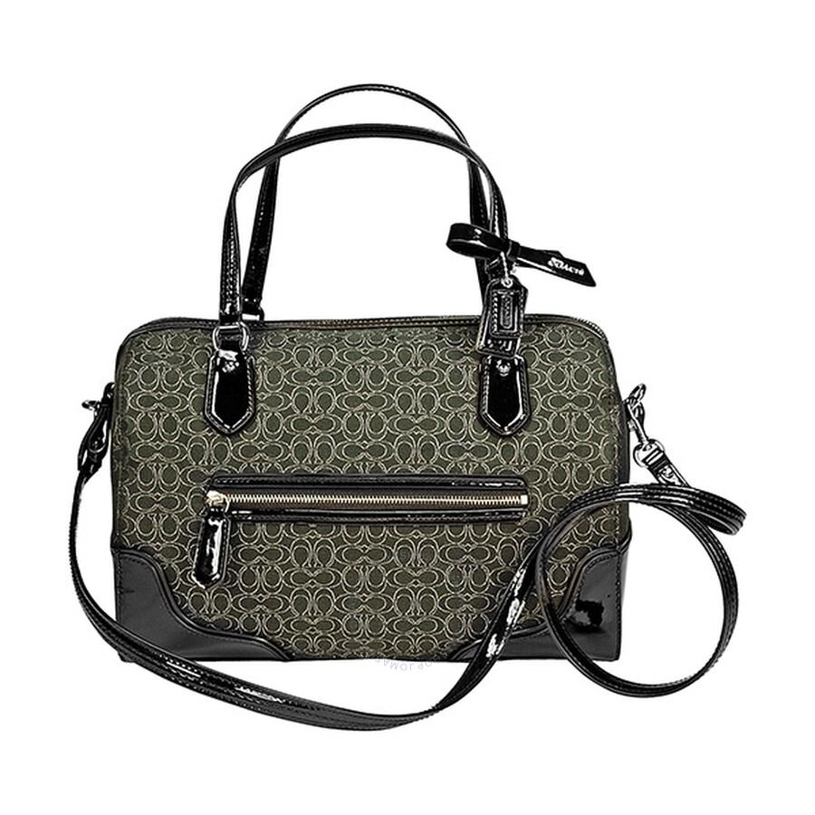 coach purse outlet online 921q  coach poppy satchel