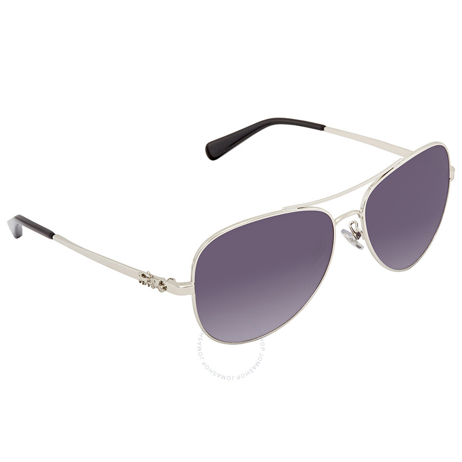 89113a3e06 Coach Purple Gradient Aviator Sunglasses HC7074 90018J 59 - Coach ...
