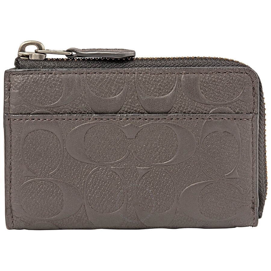 978c3a7440f0 Coach Small Zip Key Case Wallet - Coach Handbags - Handbags - Jomashop