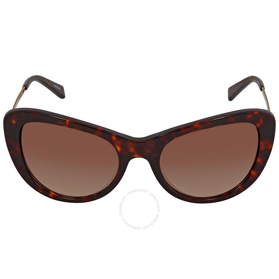 8c56e2a903 ... Coach Smoke Brown Gradient Cat Eye Ladies Tortoise Sunglasses HC8247  541713 53 ...