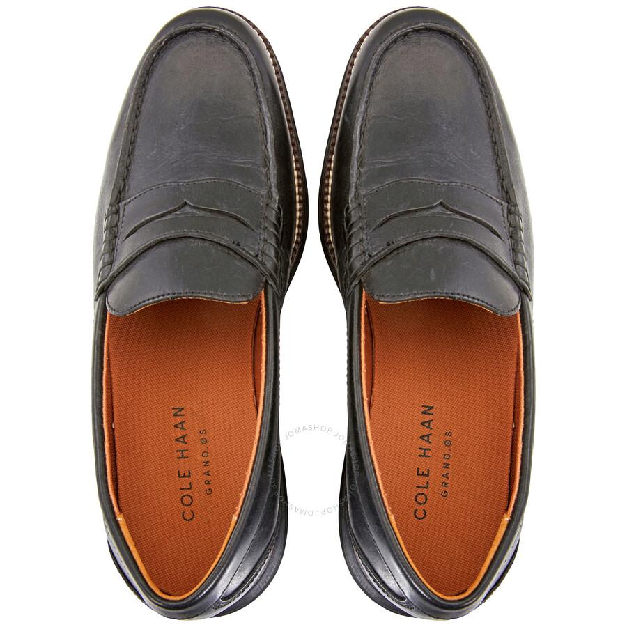 70d9fdf215 Cole Haan Men's Original Grand Penny Loafers- Black/ Size 7 - Shoes ...