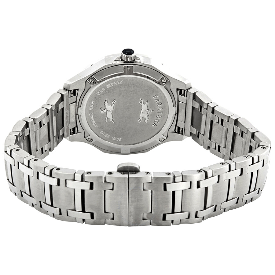 Concord saratoga diamond white mother of pearl dial ladies watch 320305 concord watches for Mother of pearl dial watch