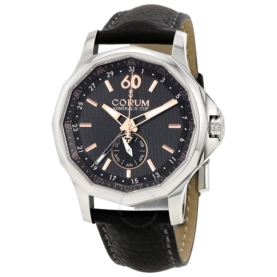 corum admiral 39 s cup annual calendar automatic men 39 s watch a503 03135 admirals cup corum