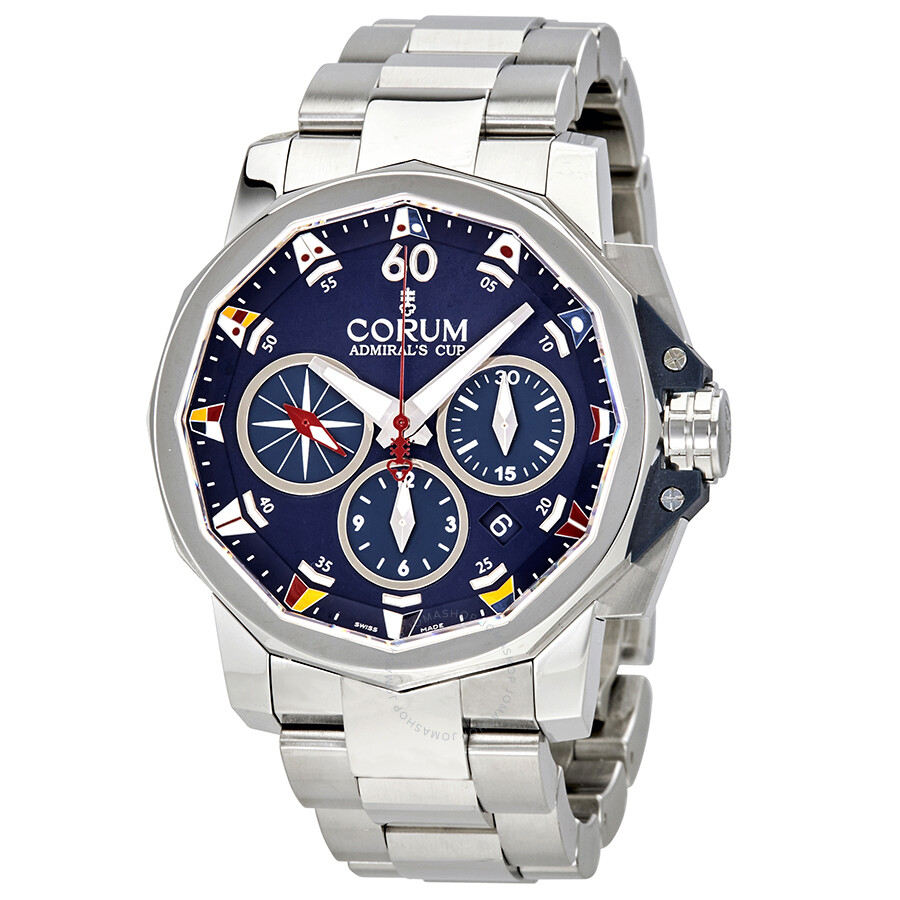 Corum admiral 39 s cup automatic blue dial men 39 s watch 75369320v701ab90 admirals cup corum for Corum watches