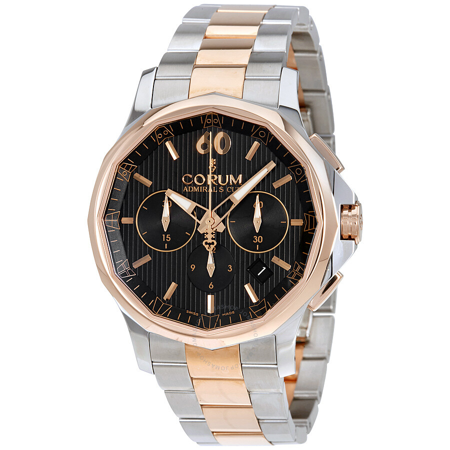Corum admiral 39 s cup legend chronograph automatic men 39 s watch an11 admirals cup for Corum watches