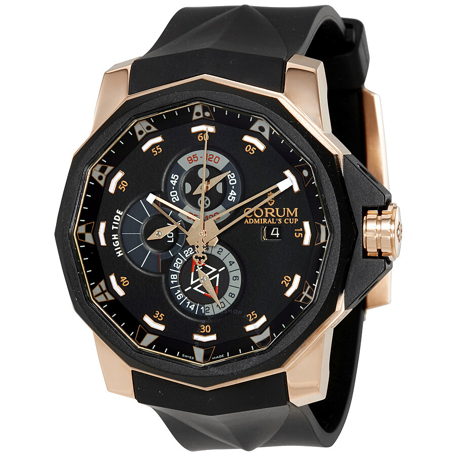 Corum admirals cup tides automatic men 39 s watch an62 admirals cup corum for Corum watches