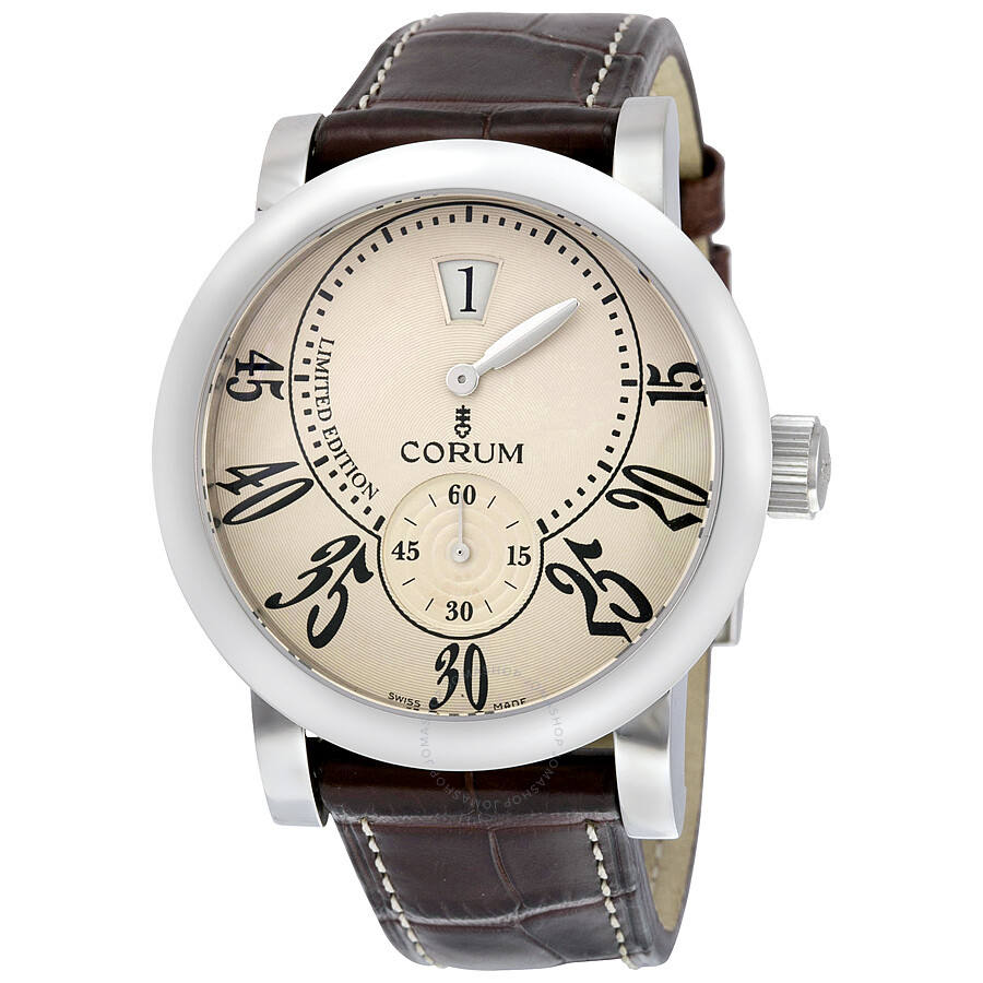 Corum classical limited edition stainless steel men 39 s watch 154 201 20 0f02 ba07 classical for Corum watches