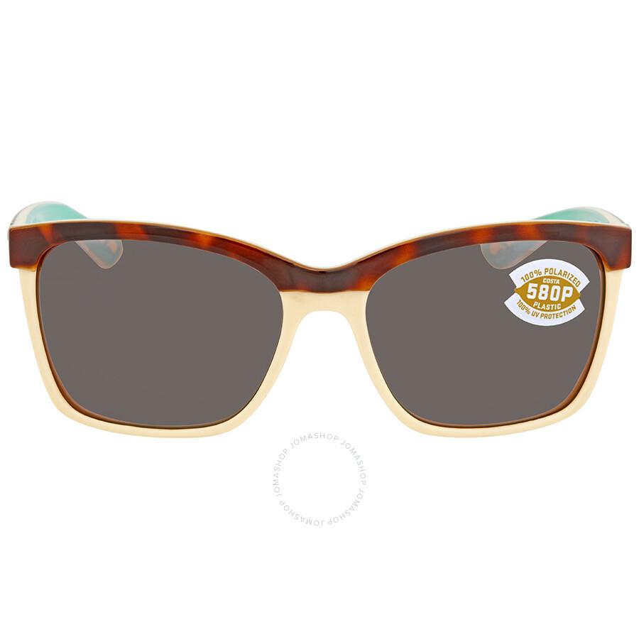 9963c0dba4b07 ... Costa Del Mar Anaa Copper Silver Mirror 580P Square Sunglasses ANA 105  OSCP ...