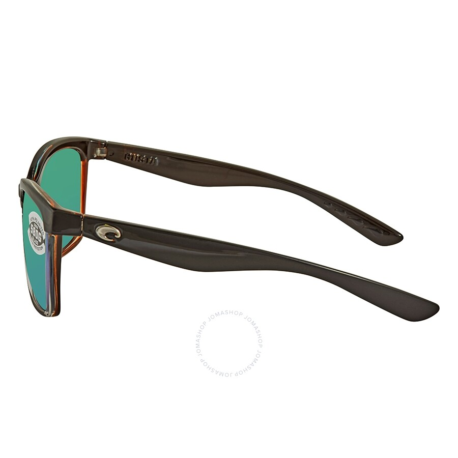 ed3d7f0559 Costa Del Mar Anaa Green Mirror Polarized Sunglasses ANA 107 OGMGLP ...