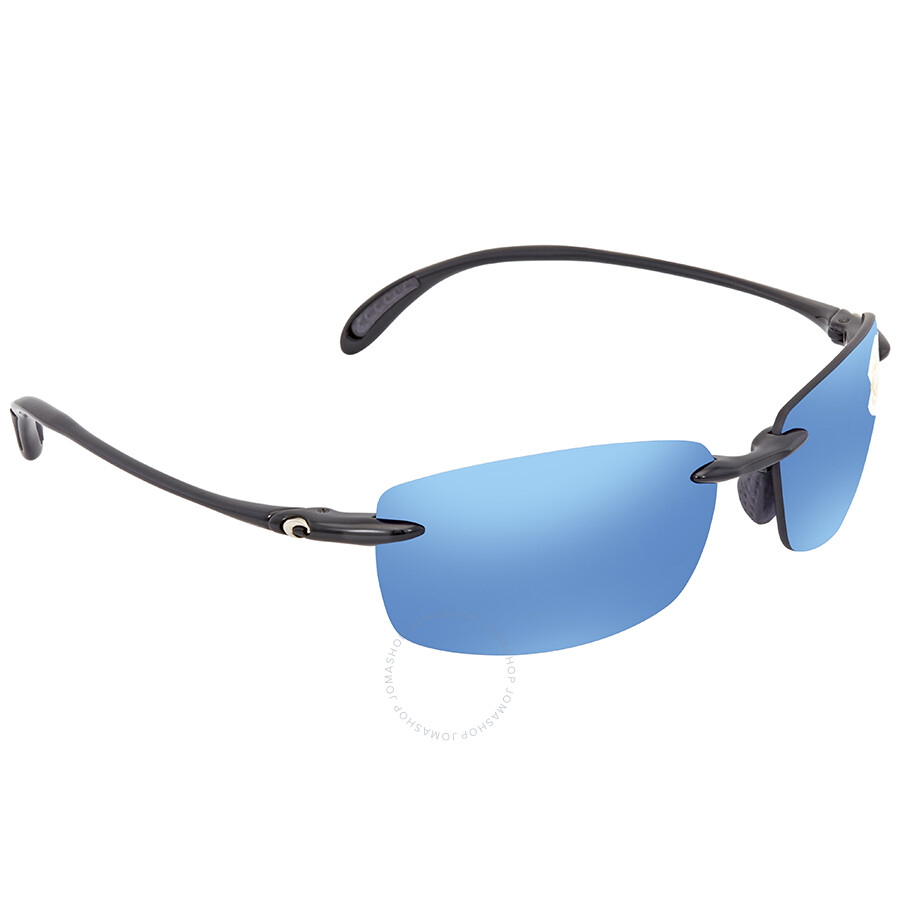 5c16e09878daf Costa Del Mar Ballast Polarized Blue Mirror 580P Rectangular Sunglasses BA  11 OBMP ...