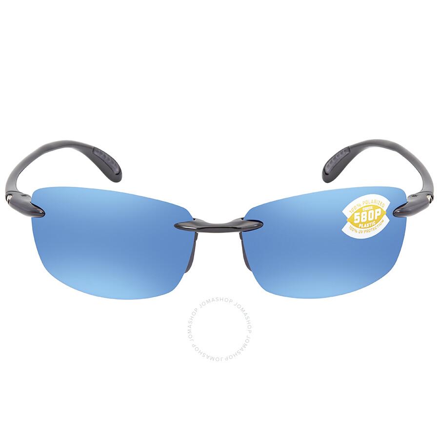 34ea06f1d9e ... Costa Del Mar Ballast Blue Mirror 580P Rectangular Sunglasses BA 11  OBMP ...