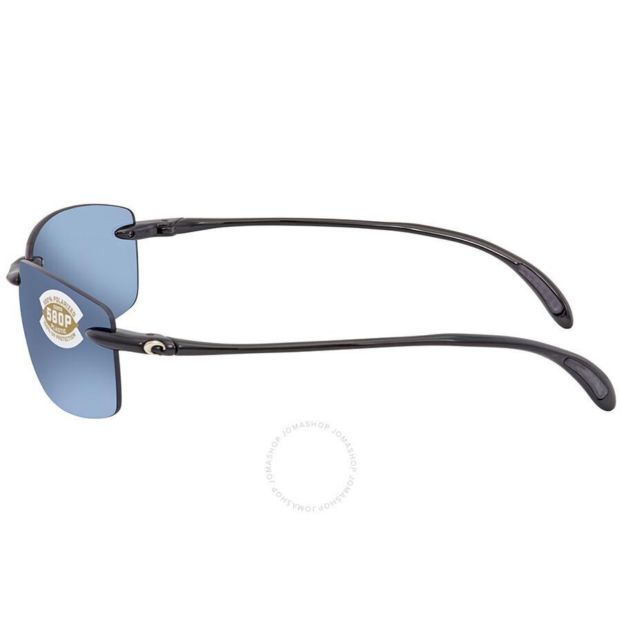 14a5a19a867 ... Costa Del Mar Ballast Blue Mirror 580P Rectangular Sunglasses BA 11 OBMP