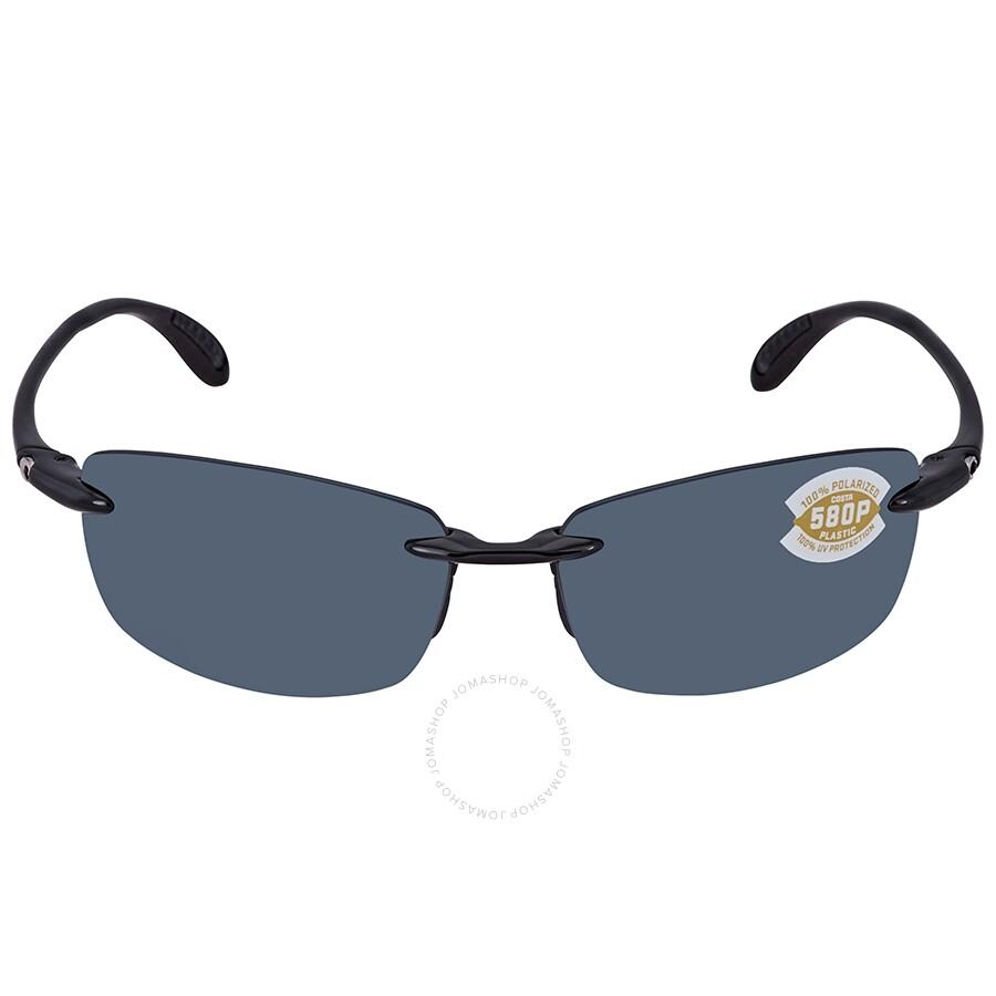 501ca0bde22 ... Costa Del Mar Ballast Grey 580P Polarized Sunglasses BA 11 OGP ...