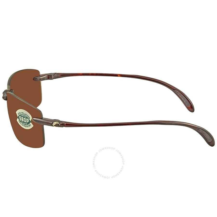 1d09603874 ... Costa Del Mar Ballast Medium Fit Copper 580P C-Mate 1.50 Rectangular  Sunglasses BA 10