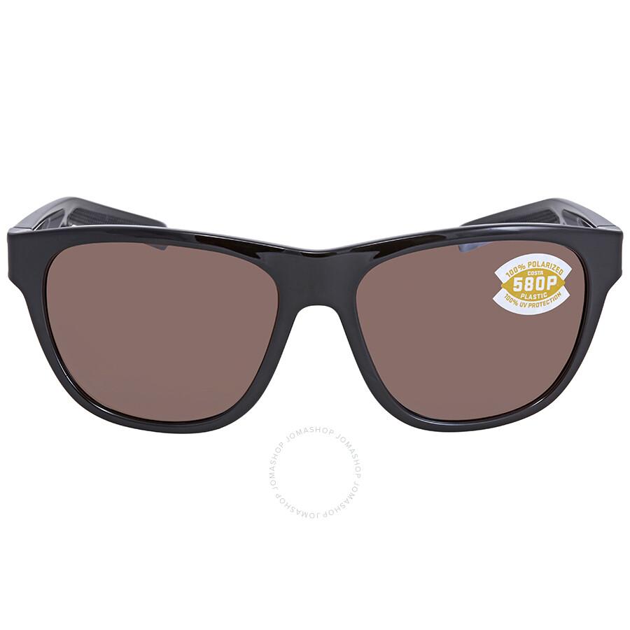 90caba668a7 ... Costa Del Mar Bayside Polarized Copper Silver Mirror Rectangular  Sunglasses BAY 11 OSCP ...