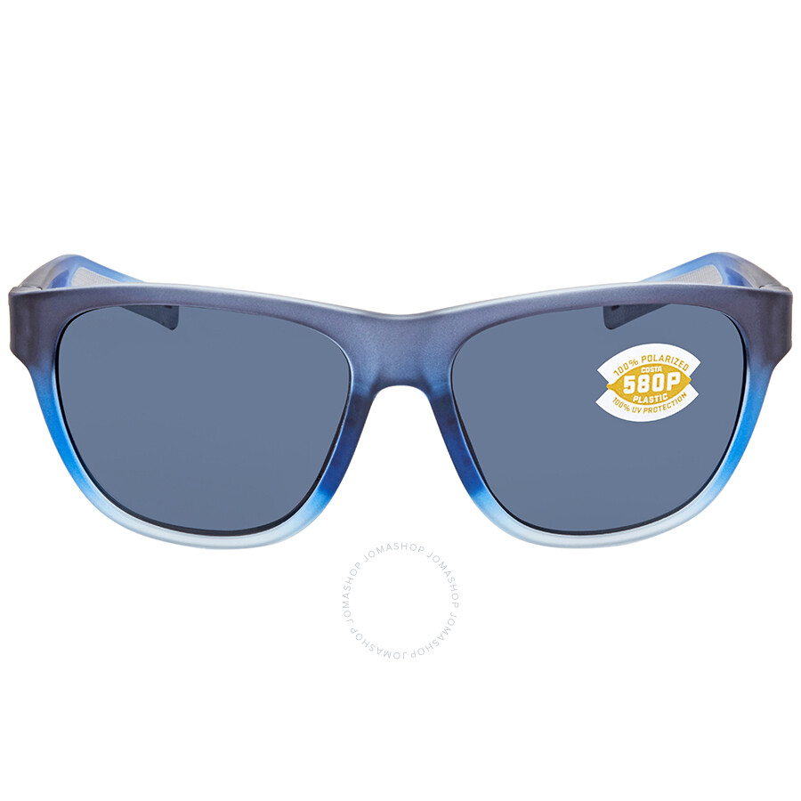7ab7446d3fb8f Costa Del Mar Bayside Grey 580P Sport Sunglasses BAY 193 OGP - Costa ...