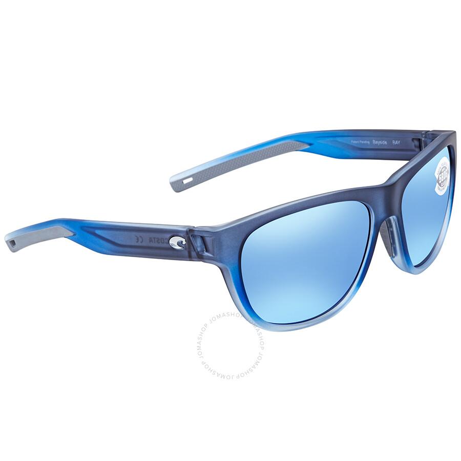7dd6ca1c8d987 Costa Del Mar Bayside Medium Blue Mirror Sunglasses BAY 193 OBMGLP Item No. BAY  193 OBMGLP