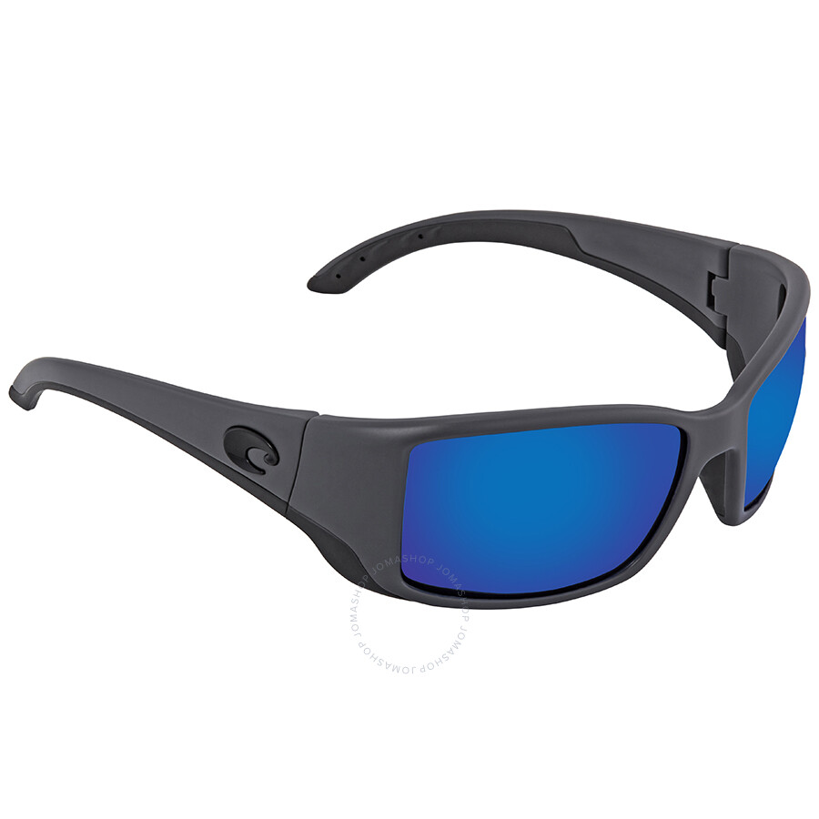 0345101ed37 Costa Del Mar Blackfin Blue Mirror Polarized Glass Large Fit Sunglasses BL  98 OBMGLP ...