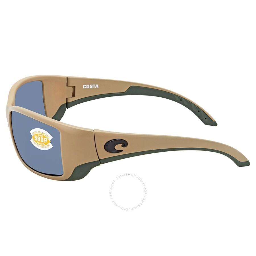 cd8f6c203b ... Costa Del Mar Blackfin Gray Polarized Plastic Rectangular Sunglasses BL  248 OGP
