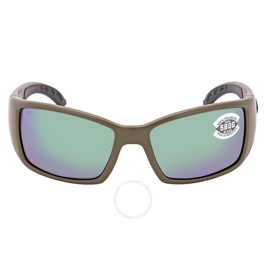 4748690ad94 ... Costa Del Mar Blackfin Green Mirror Polarized Glass Rectangular  Sunglasses BL 198 OGMGLP ...