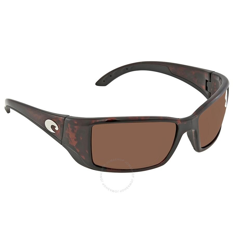 85245a3833e0 Costa Del Mar Blackfin Large Fit Copper Polarized Sunglasses BL 10 OCGLP ...