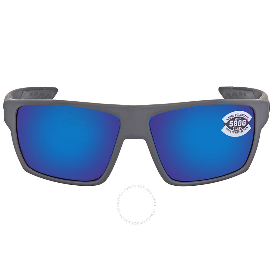 996edd20d0 ... Costa Del Mar Bloke Blue Mirror Polarized Glass X-Large Fit Sunglasses  BLK 127 OBMGLP ...