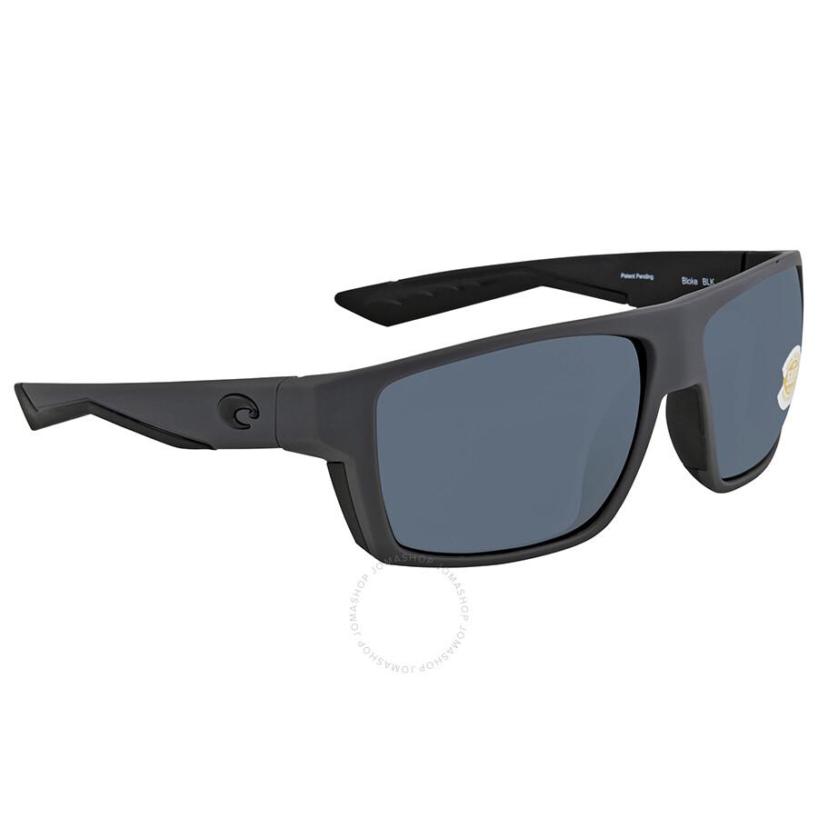 22f7d66ee3b72 Costa Del Mar Bloke Rectangular Sunglasses BLK 127 OGP - Costa Del ...