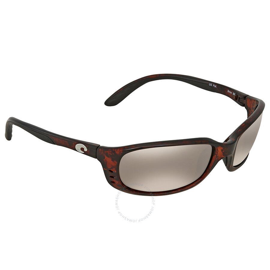 102c2db67b Costa Del Mar Brine Copper Silver Mirror 580G Wrap Sunglasses BR 10 OSCGLP  Item No. BR 10 OSCGLP