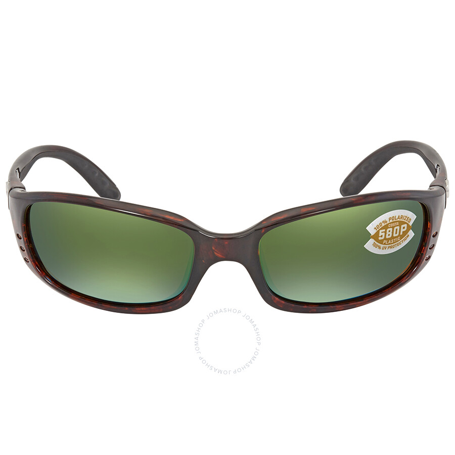 ef5c25514f583 ... Costa Del Mar Brine Green Mirror 580P Polarized Wrap Sunglasses BR 10  OGMP ...