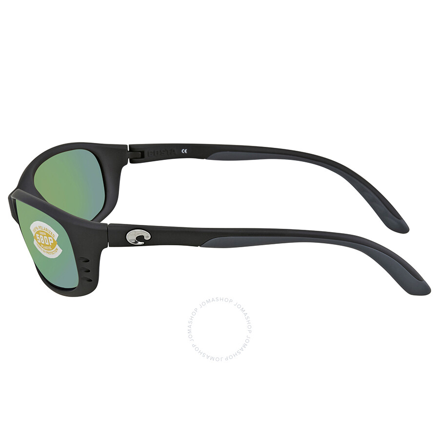 82f76986b9d85 ... Costa Del Mar Brine Green Mirror 580P Polarized Wrap Sunglasses BR 11  OGMP