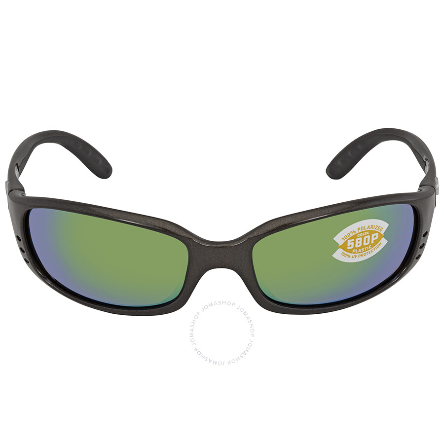9ec48805c2cf9 ... Costa Del Mar Brine Green Mirror 580P Rectangular Sunglasses BR 22 OGMP  ...
