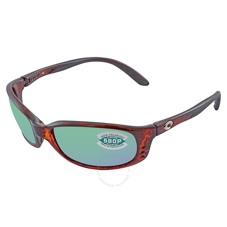 4276acbf7883c Costa Del Mar Brine Readers Polarized Green Mirror Sunglasses BR 10 OGMP  1.50 ...