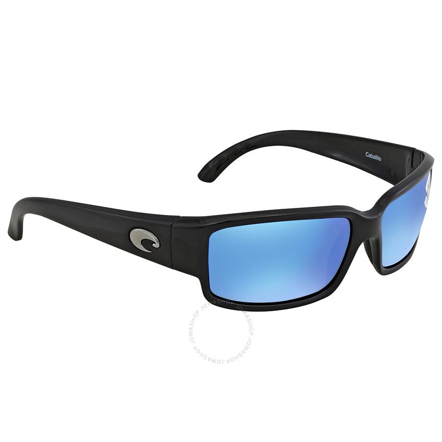 3ef9401e7b Costa Del Mar Caballito Blue Mirror 580G Polarized Rectangular Sunglasses  CL 11 OBMGLP Item No. CL 11 OBMGLP