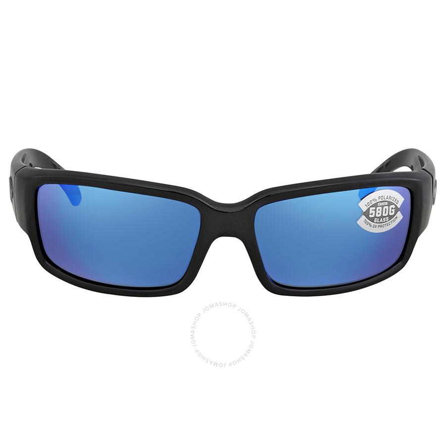ff658703a7 ... Costa Del Mar Caballito Blue Mirror 580G Polarized Rectangular  Sunglasses CL 11 OBMGLP ...