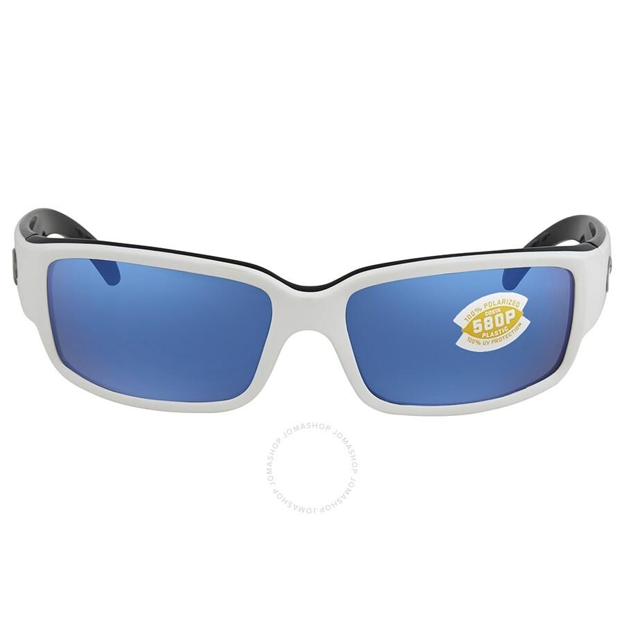 52cb37b560 ... Costa Del Mar Caballito Blue Mirror 580P Polarized Rectangular  Sunglasses CL 30 OBMP ...