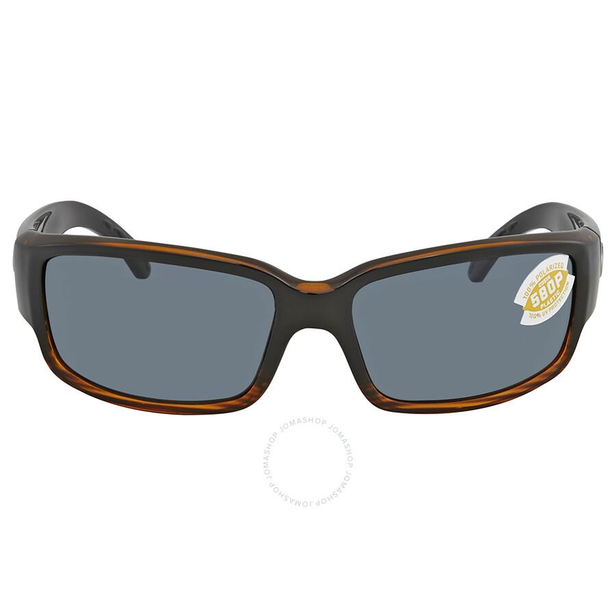 bca90c0c21 Costa Del Mar Caballito Gray 580p Wrap Sunglasses CL 52 OGP Item No. CL 52  OGP