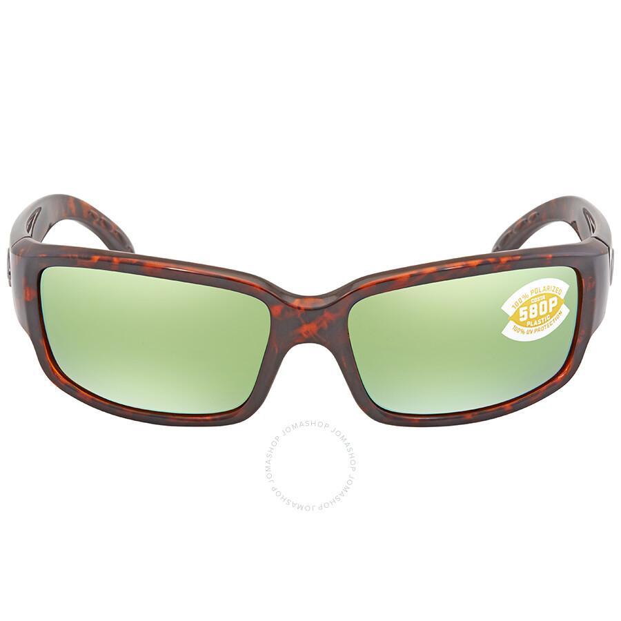 6db72214cf ... Costa Del Mar Caballito Green Mirror 580P Polarized Wrap Sunglasses CL  10 OGMP ...
