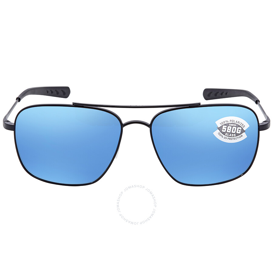 Costa Del Mar UC300BOBMGLP Caldera Net Gray w//Blue Rubber Blue Mirror 580G Sunglasses