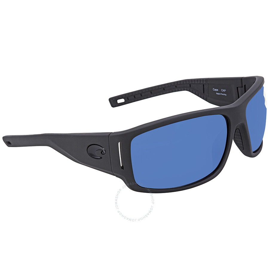 ede63d99c39a5 Costa Del Mar Cape Blue Mirror Rectangular Sunglasses CAP 187 OBMP Item No. CAP  187 OBMP