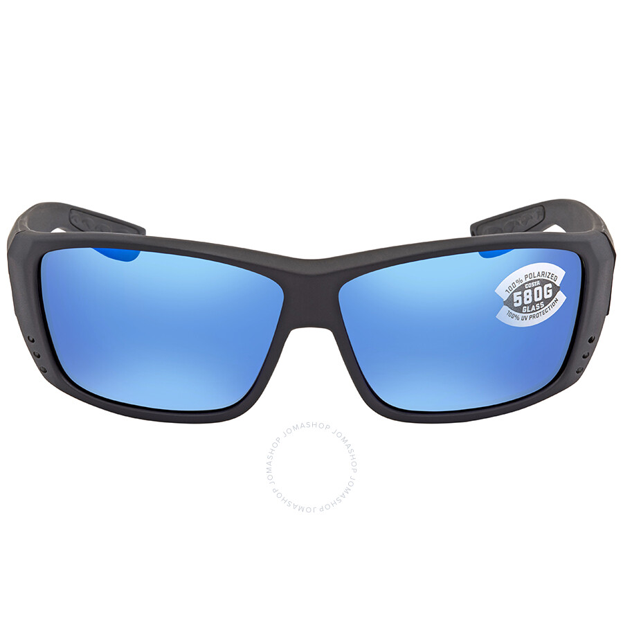 eaceda7dc7 ... Costa Del Mar Cat Cay Blue Mirror 580G Polarized Rectangular Sunglasses  AT 01 OBMGLP ...