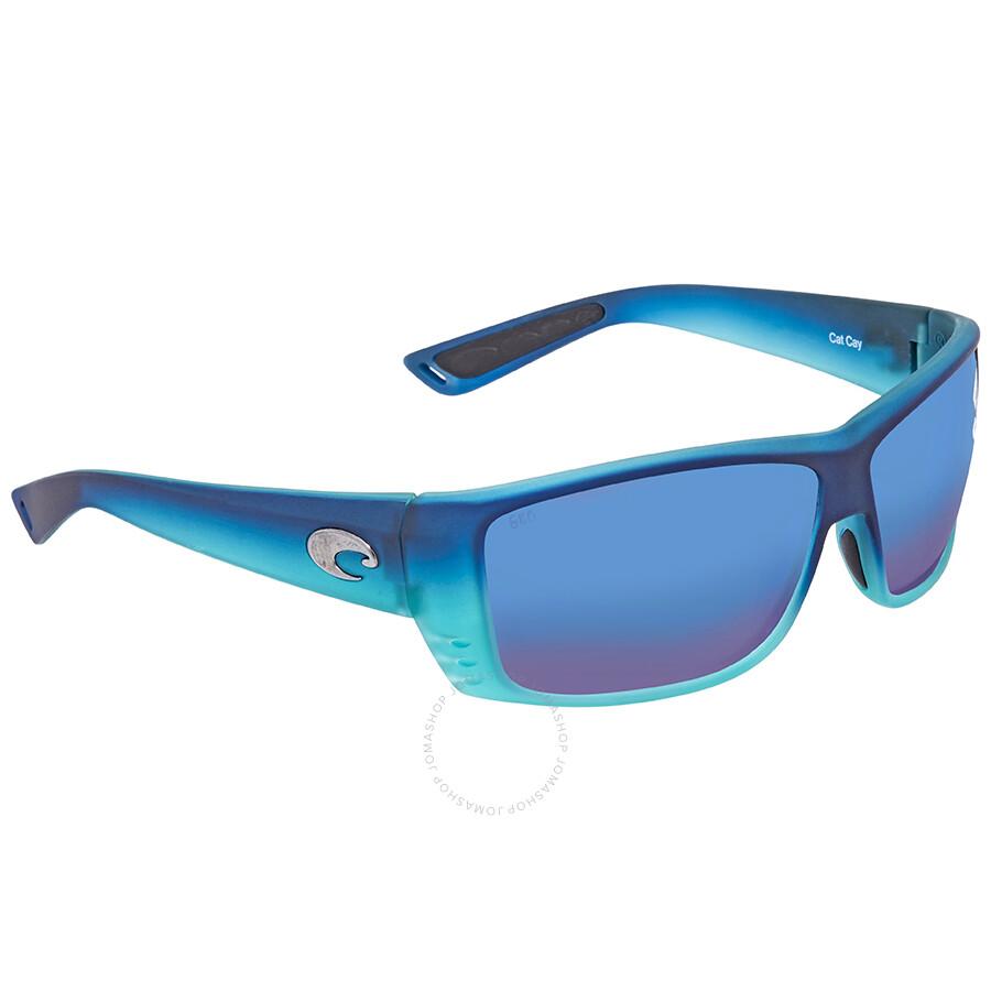 d2a1dd86e Costa Del Mar Cat Cay Blue Mirror Polarized Sunglasses AT 73 OBMGLP Item  No. AT 73 OBMGLP