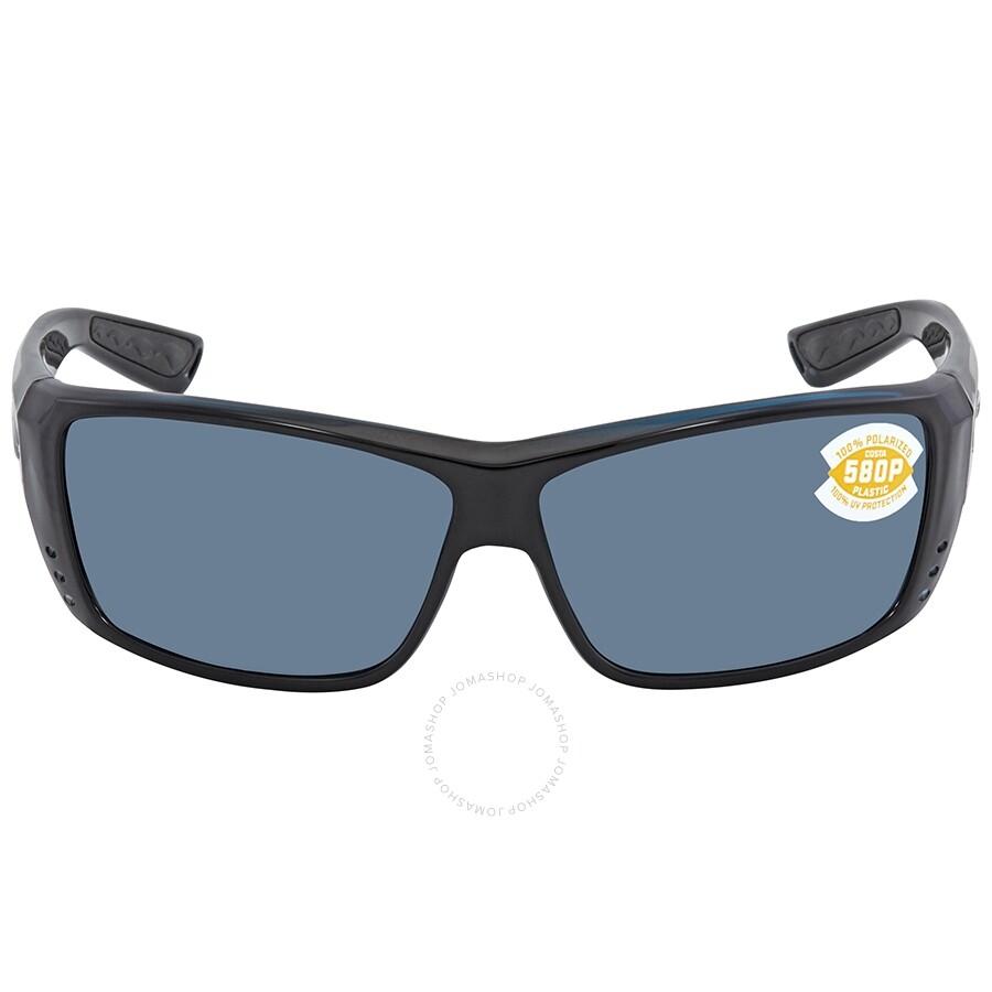 7f04c1d80fb ... Costa Del Mar Cat Cay Gray 580P Rectangular Unisex Sunglasses AT 11 OGP  ...