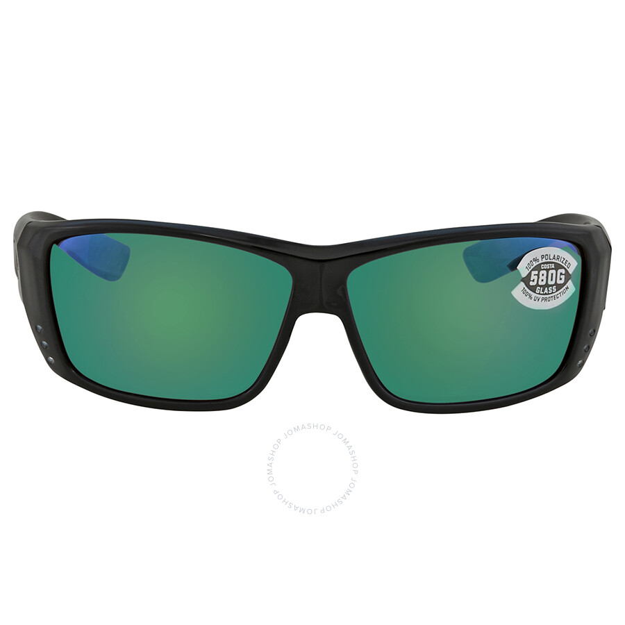 167ccaa6dc ... Costa Del Mar Cat Cay Green Mirror Polarized Glass Rectangular  Sunglasses AT 11 OGMGLP ...