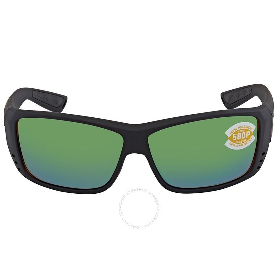 6a024a8716 ... Costa Del Mar Cat Cay Green Mirror Rectangular Unisex Sunglasses AT 01  OGMP ...
