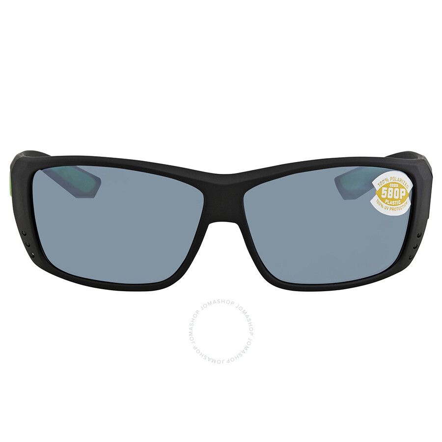 f9510961b0 ... Costa Del Mar Cat Cay Grey Silver Mirror Rectangular Sunglasses AT 200  OSGP ...