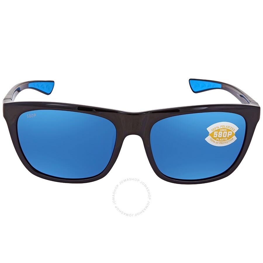 01d6b0e0414a ... Costa Del Mar Cheeca Blue Mirror 580P Polarized Rectangular Ladies  Sunglasses CHA 11 OBMP ...